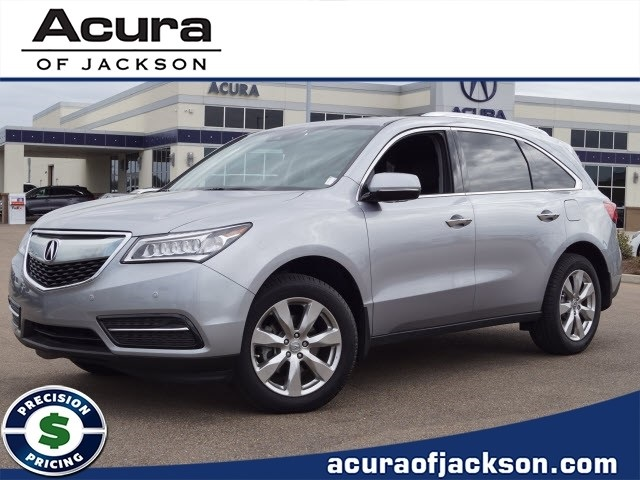 Certified Pre Owned 2016 Acura Mdx With Advance Package