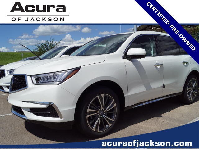 Acura Jackson Ms >> Pre Owned 2019 Acura Mdx 3 5l Technology Package 4d Sport Utility In