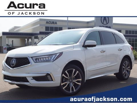New 2019 Acura MDX with Advance Package